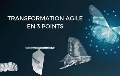 Transformation Agile en 3 points