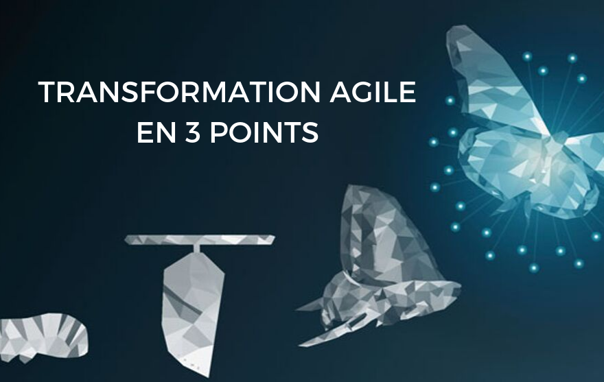 Transformation Agile en 3 points